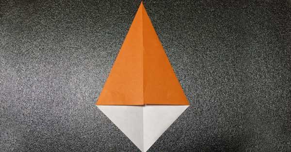カブトムシの折り方2
