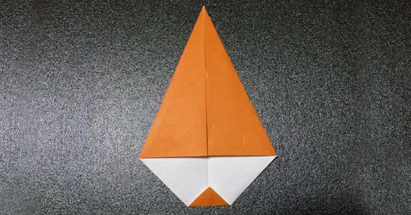 カブトムシの折り方3