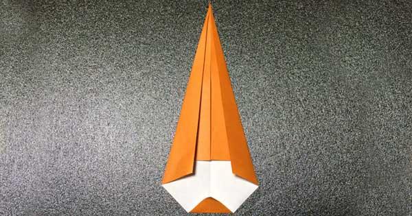 カブトムシの折り方4