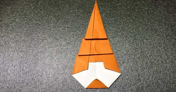 カブトムシの折り方5