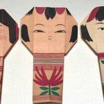 こけしの折り紙を折って遊ぼう|How to fold Kokeshi