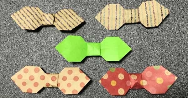 折り紙でつくるリボンの簡単な折り方|How to fold Ribbon
