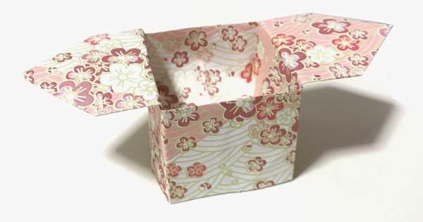 折り紙で作る「立体さんぼうの折り方」