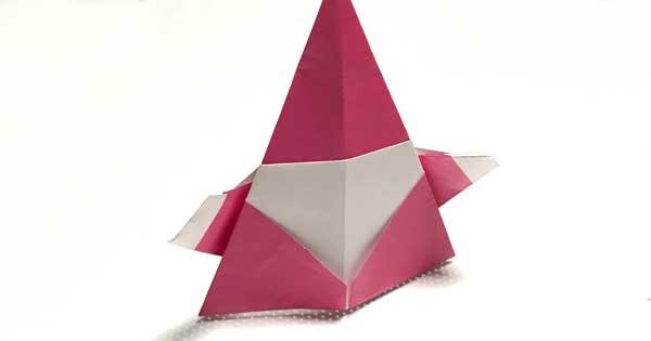 【折り紙】サンタクロースの簡単な折り方・作り方
