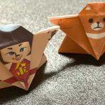お相撲さんの折り紙を折ろう
