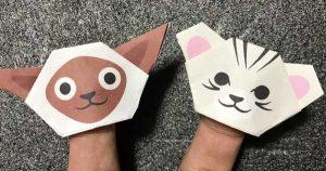 猫の折り紙指人豪