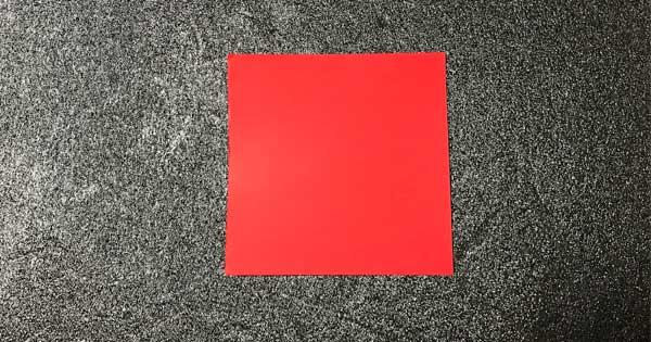 チューリップの折り方.1
