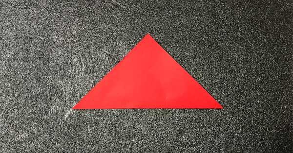 チューリップの折り方.2