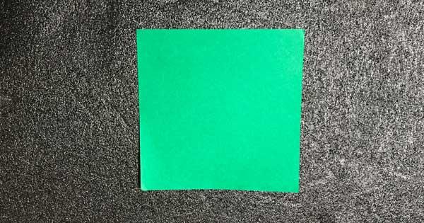 チューリップの折り方.6