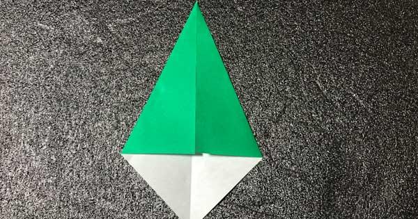 チューリップの折り方.7