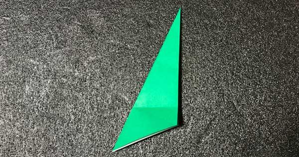 チューリップの折り方.9