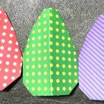 卵の折り紙の作り方「イースターエッグ」How to fold Egg