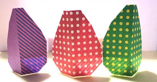 卵の折り紙