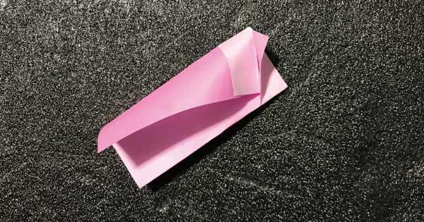 折り紙指人形「折り方.4」