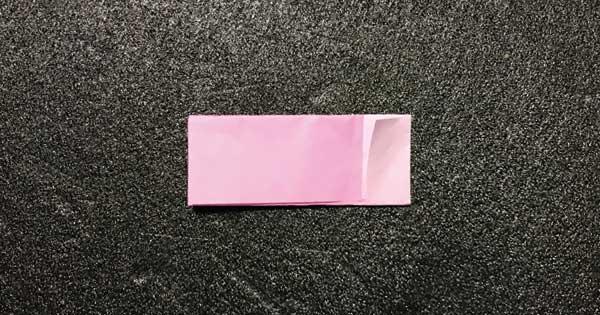 折り紙指人形「折り方.5」