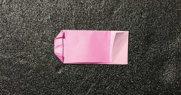 折り紙指人形「折り方.7」