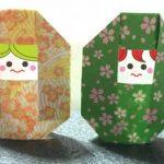 折り紙マトリョーシカ │ 子供でも簡単な折り方