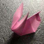 折り紙で作る月見うさぎ