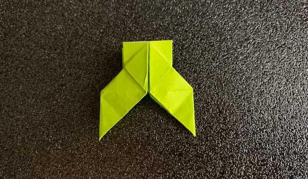 はかまの折り紙