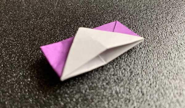 小物入れの折り紙完成品