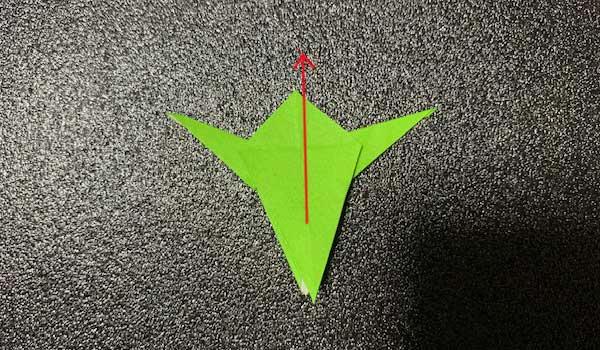 カタツムリの折り方3