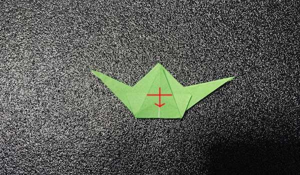 カタツムリの折り方4