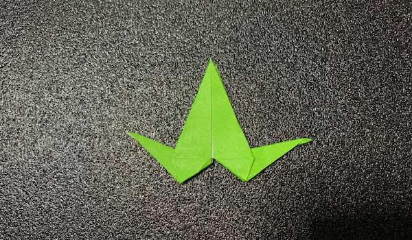 カタツムリの折り方2