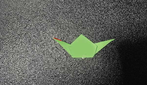 カタツムリの折り方5