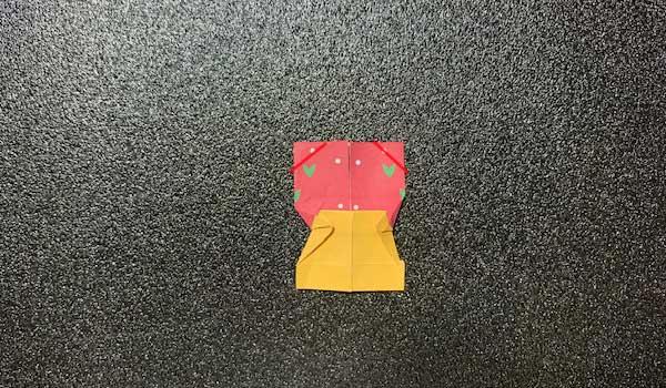 マトリョーシカの折り方7