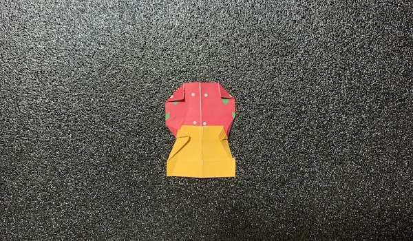 マトリョーシカの折り方8