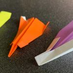 紙ヒコーキの折り方Part2完成品