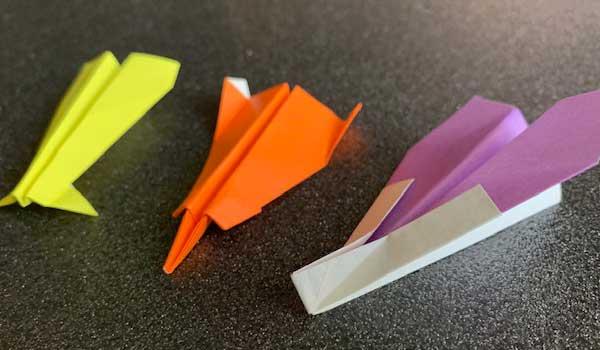 簡単でよく飛ぶ紙ヒコーキの折り方Part2