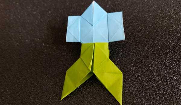 折り紙の「やっこさん(はかま付き)」の簡単な折り方