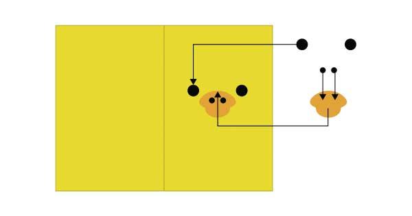 とりのメモカードの作り方1