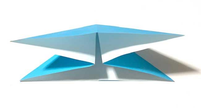 折り紙で簡単に作れる蝶の折り方5