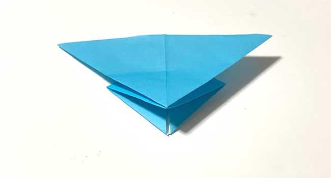 折り紙で簡単に作れる蝶の折り方7