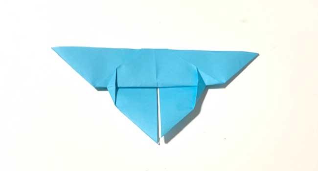 折り紙で簡単に作れる蝶の折り方9