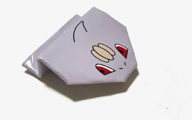 ピョンピョンポケモン ワンリキー折り紙