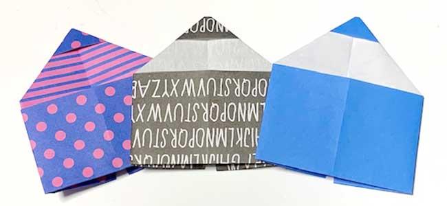 【イラストで解説】簡単な鉛筆(えんぴつ)折り紙の折り方