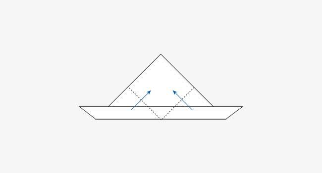 簡単!ウサギの折り紙の顔の折り方4