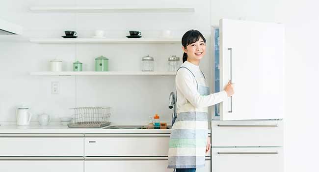 冷蔵庫|冷蔵庫や冷凍庫の掃除と収納