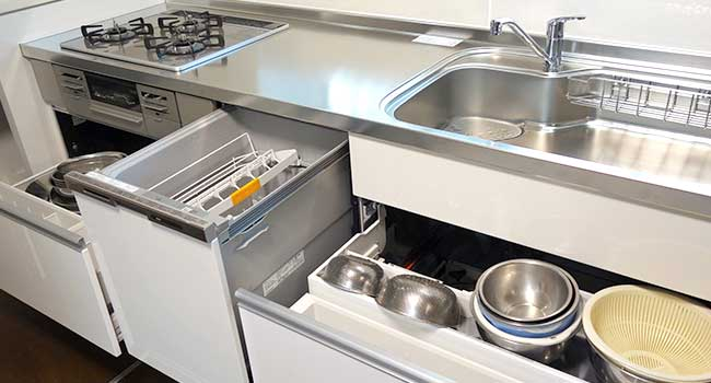調理台下収納4