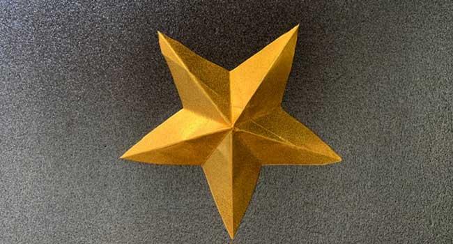 星の折り方11