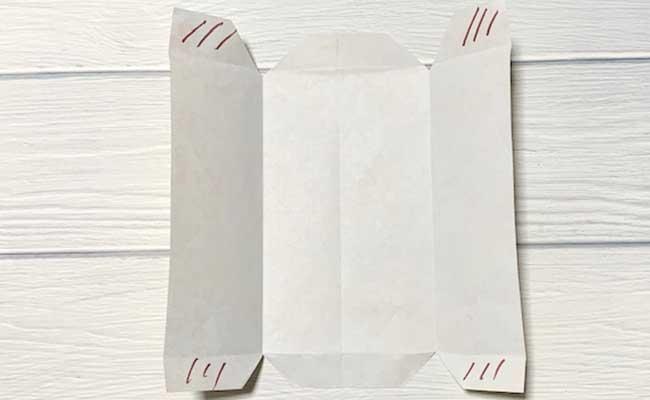 かわいいぽち袋の作り方5